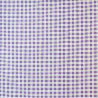 Sheetworld Gingham Check Fitted Cradle Sheet