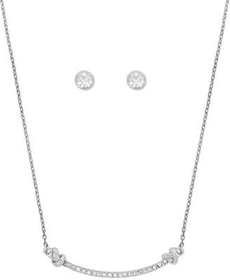 Kenneth Cole New York Crystal Necklace and Earrings Set