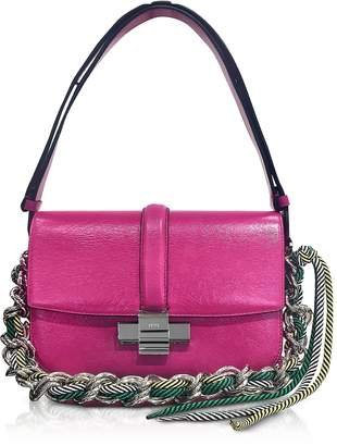 N°21 Fuchsia Leather Lolita Bag