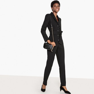 00da6ae9b11 La Redoute COLLECTIONS Couture Belted Jumpsuit