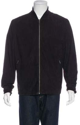 Paul Smith Suede Zip Jacket