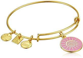 Alex and Ani Women's Charity by Design - Spiral Sun Expandable Charm Bangle Bracelet Bangle Bracelet