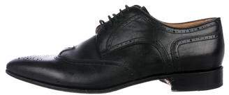 Valentino Leather Wingtip Brogues