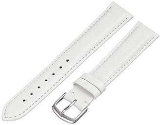 Hadley-Roma MS2045RT 180 18mm Leather Calfskin Watch Strap