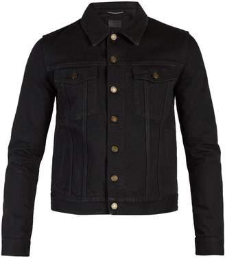 Saint Laurent Point-collar denim jacket