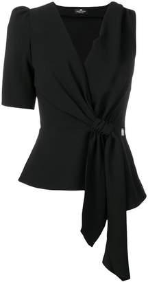 Elisabetta Franchi knot detail blouse