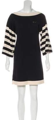 Chanel Long Sleeve Knit Dress