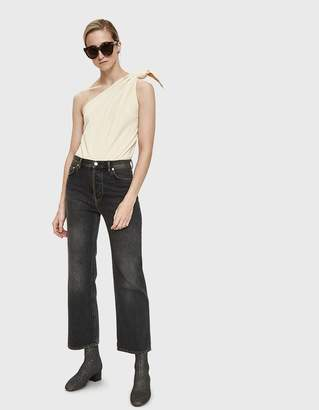 Acne Studios Taguhy Straight Leg Jean in Black Vintage