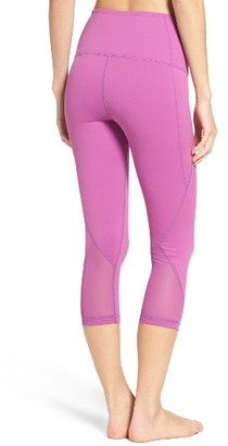 Women's Zella 'Hatha' High Waist Crop Leggings $52 thestylecure.com