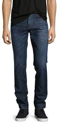 Hudson Sartor Slouchy-Skinny Jeans, Blue $209 thestylecure.com