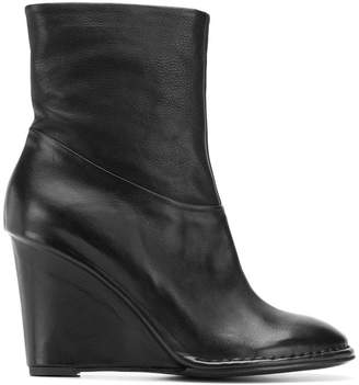 Del Carlo wedge ankle boots