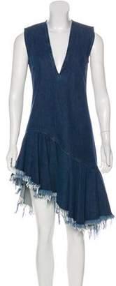 Marques Almeida Marques' Almeida Denim Sleeveless Dress
