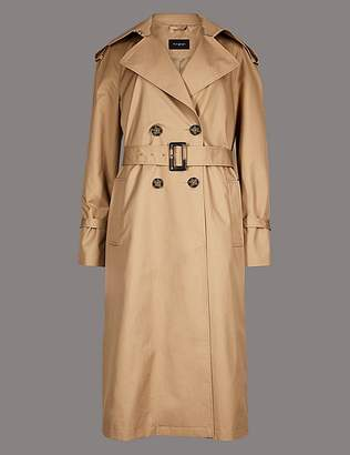 Marks and Spencer Trench Coat with Silk