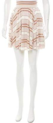 Rachel Pally Striped Mini Skirt w/ Tags