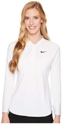 Nike Court Pure Half-Zip Tennis Top Women's Clothing