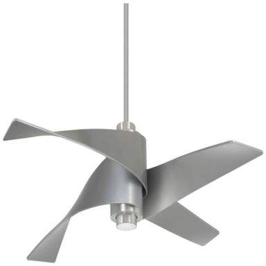 Minka Aire Minka-Aire Artemis IV LED 64-Inch Ceiling Fan in Nickel with Remote Control
