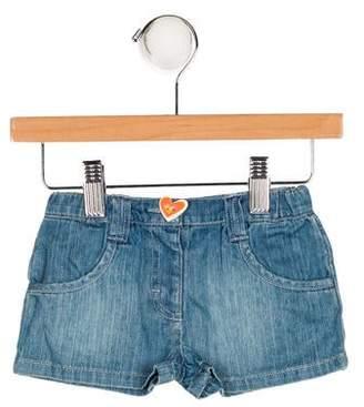 Agatha Ruiz De La Prada Girls' Denim Mini Shorts