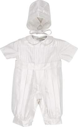Isabel Garreton Infants' Noil Romper & Hat - White