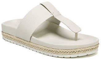 Vince Avani Toe Leather Thong Sandals