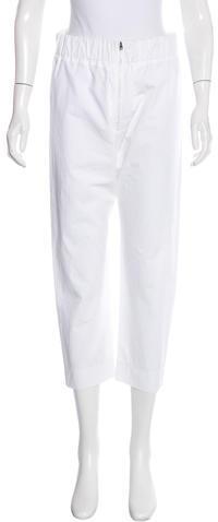 MarniMarni Elasticized Cropped Pants