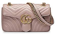 Gucci Women's GG Marmont Small Matelasse Leather Shoulder Bag