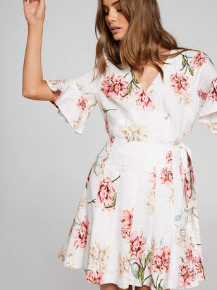 Portmans Australia Polly Panelled Linen Skirt