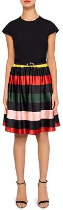 Ted Baker Aneli Cruise Stripe-Detail Dress