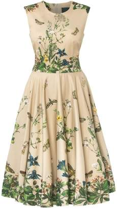 Lena Hoschek Garden Society Dress Dusk