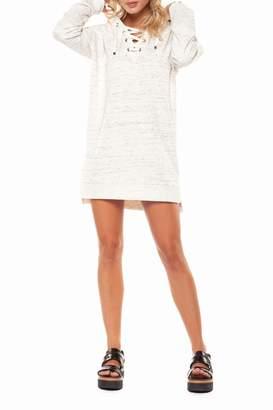 Dex Spacedye Hoodie Dress