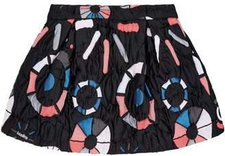 Emporio Armani Geometric Padded Skirt