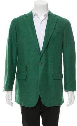 Miller's Oath Wool Single-Button Blazer