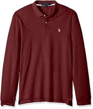 U.S. Polo Assn. Men's Long Sleeve Interlock Polo Shirt