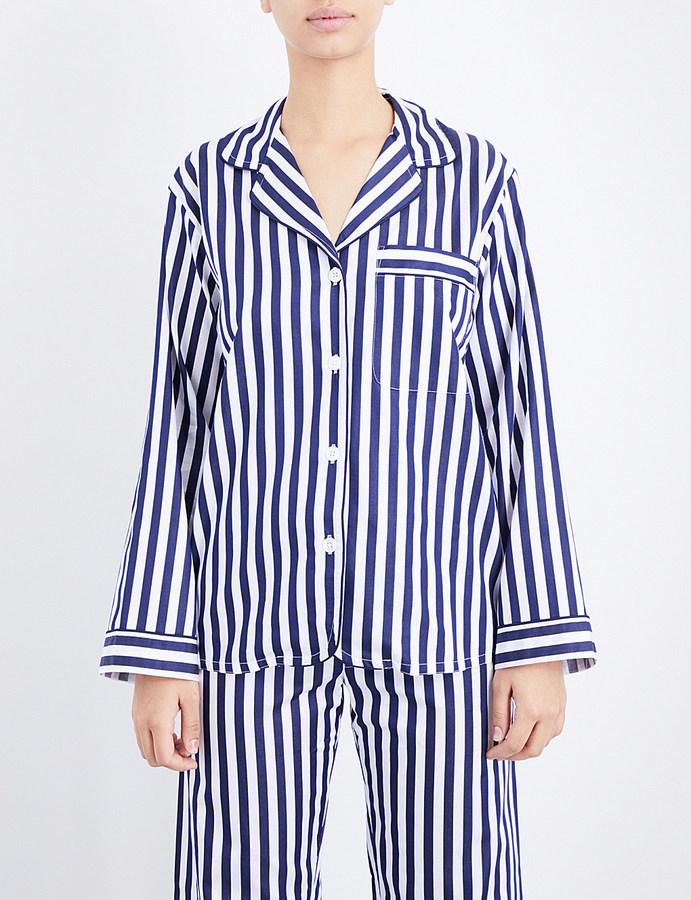 BodasBodas St moritz woven pyjama top