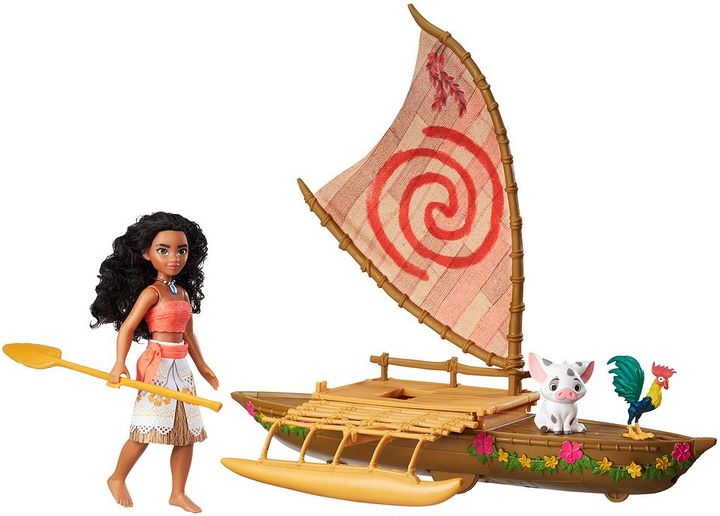 Hasbro Disney's Moana Starlight Canoe & Friends by Hasbro