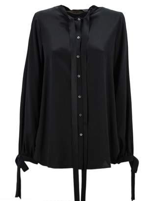 N°21 N.21 Black Silk Shirt.