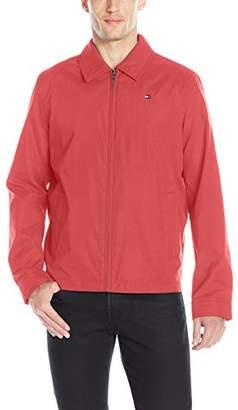 Tommy Hilfiger Men's Lightweight Microtwill Golf Jacket