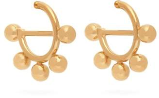 J.W.Anderson Disc Mini Hoop Earrings - Womens - Gold