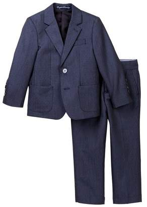 English Laundry Chambray 2-Piece Suit Set (Toddler & Little Boys)