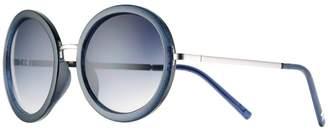 Lauren Conrad Runway Collection 52mm Myth Round Sunglasses