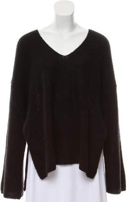 Rebecca Minkoff Oversize V-Neck Sweater