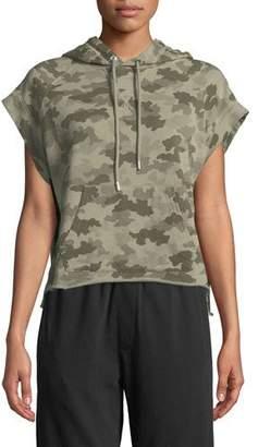 ATM Anthony Thomas Melillo Camo-Print Hooded Pullover