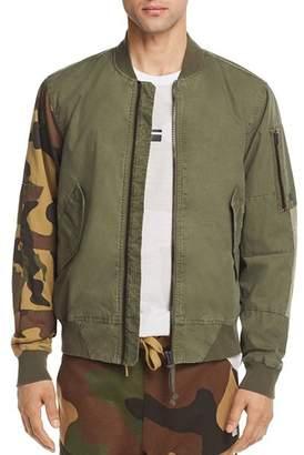 G Star Rackam Camouflage Bomber Jacket