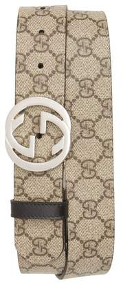 Gucci Reversible Logo Interlocking Belt