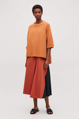 Cos WOOL-KNIT JUMPER WITH SLITS