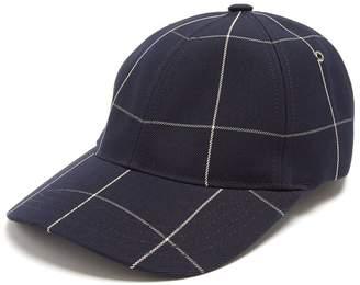 A.P.C. Alex check-print cap