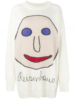 Christopher Kane Reisenbauer intarsia sweater $795 thestylecure.com