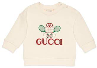Gucci Embroidered Tennis Sweatshirt