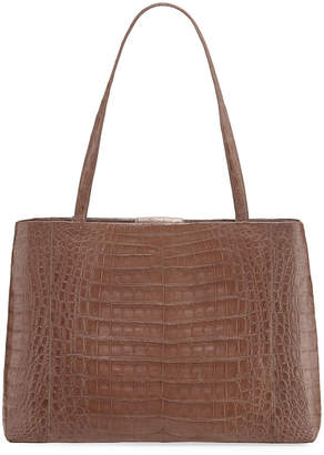 Nancy Gonzalez Analise Crocodile Work Tote Bag