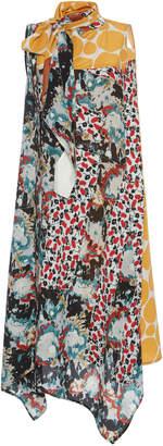 Marni Sleeveless Floral Dress Size: 46