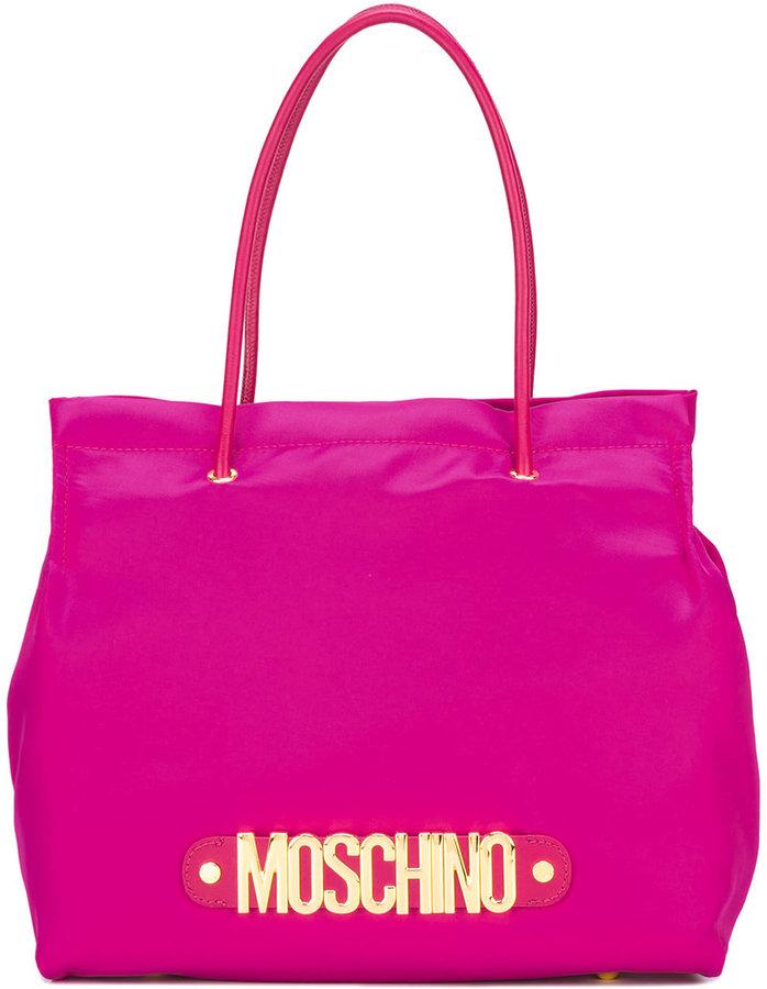 MoschinoMoschino logo letters tote